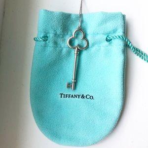 Tiffany & Co Trefoil Key necklace